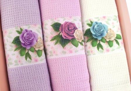 Набивные полотенца - магазин Текстиль Маркет, Сочи