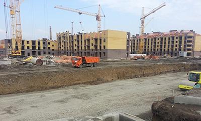 Строительство жилых помещений, Строительство жилых помещений Владикавказ