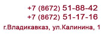 8 (8672) 51-88-42, 8 (8672) 51-17-16