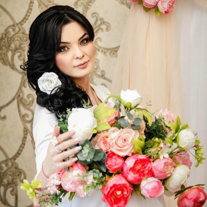 гульнара чекоева свадебные прически фото