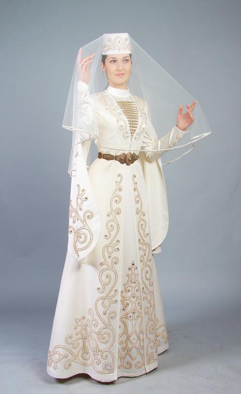 Осетинские свадебные платья
